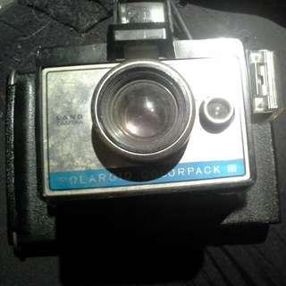 Vintage Camera Polaroid Colorpack III