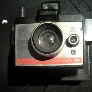 Vintage Land Camera Polaroid Colorpack 80
