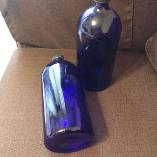 藍色太陽水瓶。零極限。藍色水瓶