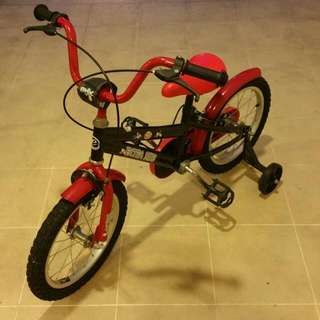 "Toddler 15"" Bicycle With Assisted Wheels"