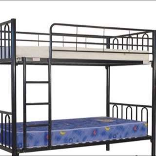 Bunk Bed With Two Mattress Single