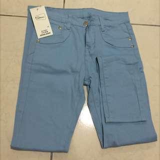 ✨全新顯瘦窄管褲