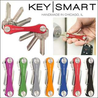 Authentic KeySmart Premium Key Organizer - Made In Chicago. Minimalist and Compact.