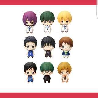 Kuroko No Basuke One Coin Figurines 2Q 3Q 4Q