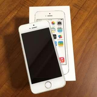 (保留)iPhone5s 銀色 16g