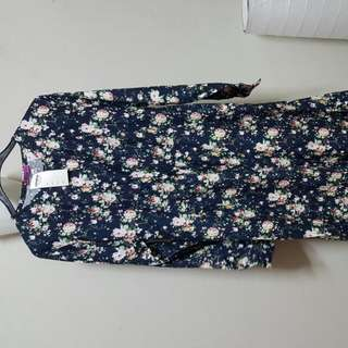 Long Dress - Cotton Fabric