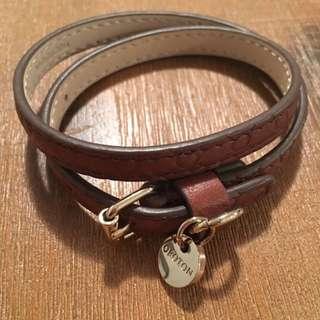 Oroton Double Wrap Around Bracelet