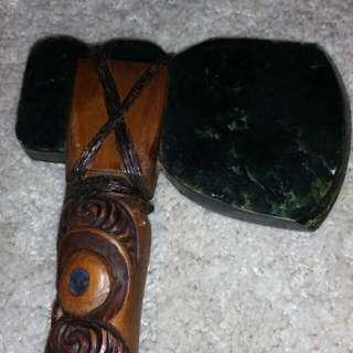 Authentic Maori War Axe