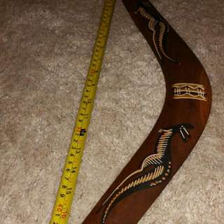 Authentic Aborigines Boomerang.