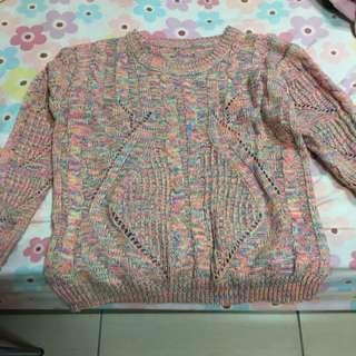 8成新 彩色針織毛衣 消費就送