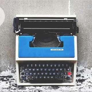 打字機_西班牙製 underwood 315