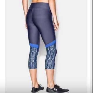UA Underarmour 健身褲 高強度 重訓 有氧 緊身褲 女