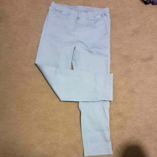 3/4 Blue Pants