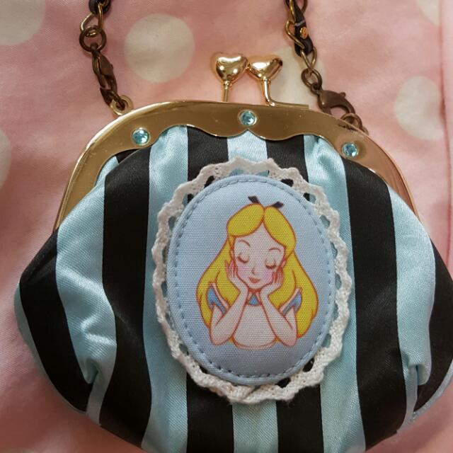 迪士尼愛麗絲零錢包