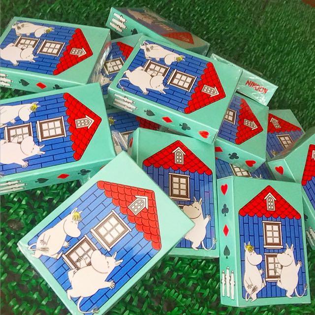 日本 嚕嚕米 撲克牌