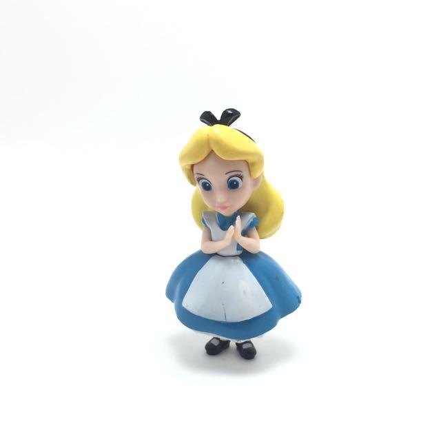 迪士尼 愛麗絲 公仔 老物