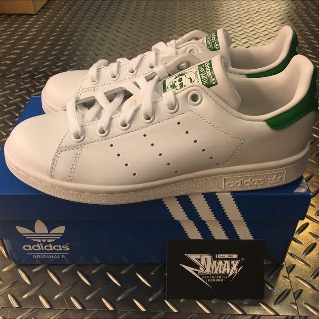 Adidas Stan Smith 綠尾 保證正品 台中一中可面交