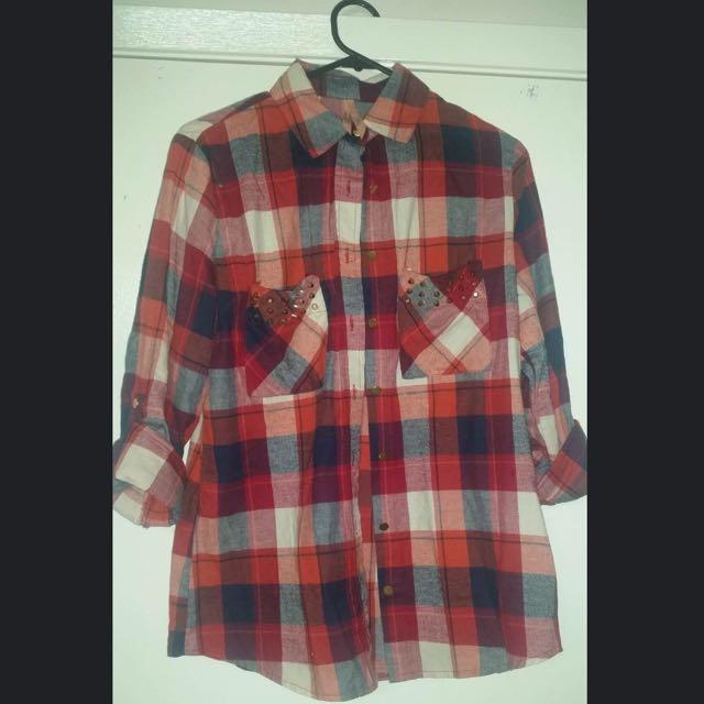 Ally Flannelette Type Shirt