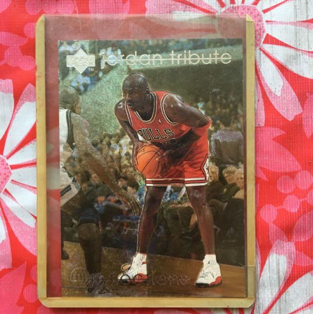d3cb283fc6a32f Authentic Upper Deck Jordan NBA Trading Cards