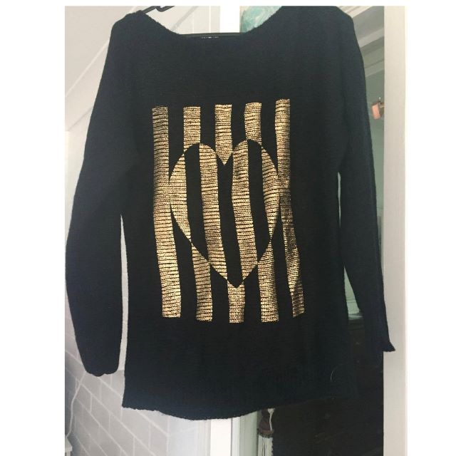 Black jumper by Sass Clothing Size 8