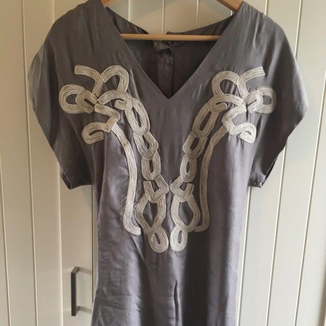 Bracewell Silk Tunic