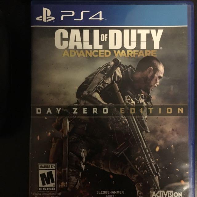 Call Of Duty Advanced Warfare Zero Edition