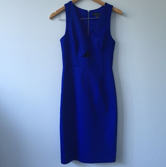 Cobalt Blue Forever New Formal Dress Size 6