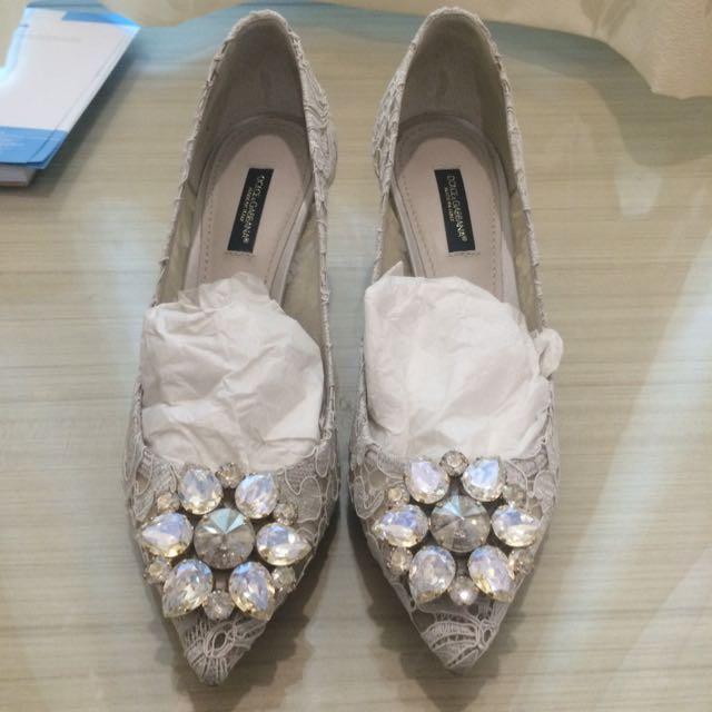 DnG Lace Shoe 3cm Size 37