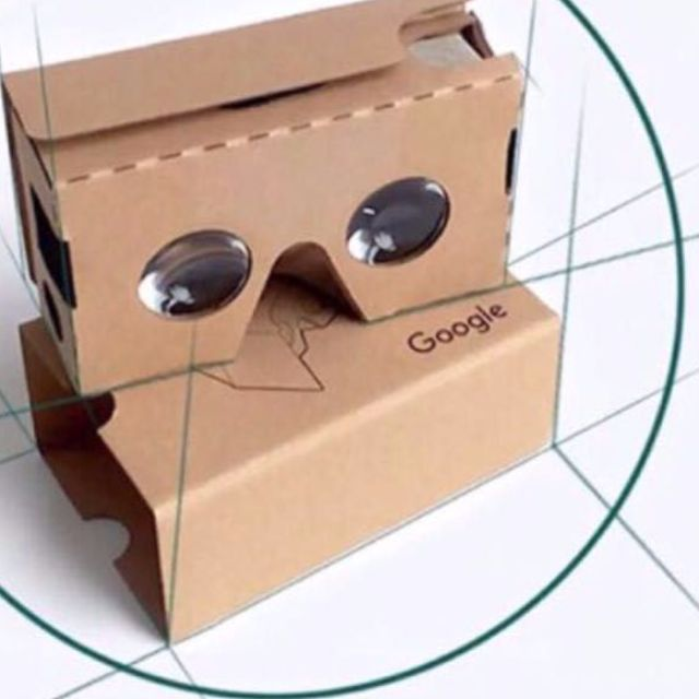 Google VR Google Cardboard 2二代 3D VR 眼鏡 虛擬實鏡 紙盒版 體驗價