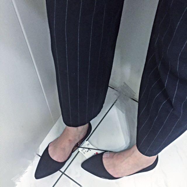 H&M平底尖頭鞋