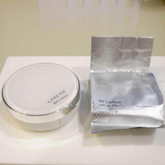 LANEIGE BB Cushion case and refill pack #23 Sand Beige