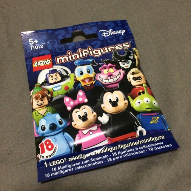 Lego樂高 迪士尼人偶 單隻 包裝近完整