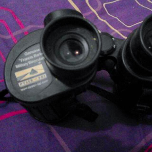 Military Binocular With Compass
