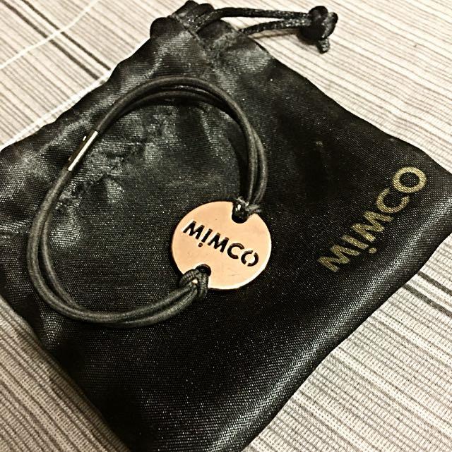 Mimco Rose gold wrist/hair wear