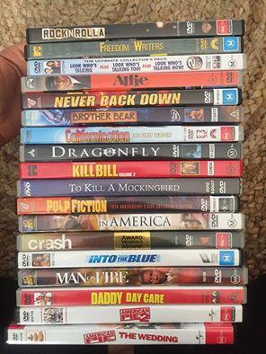 Mixed Popular DVDs