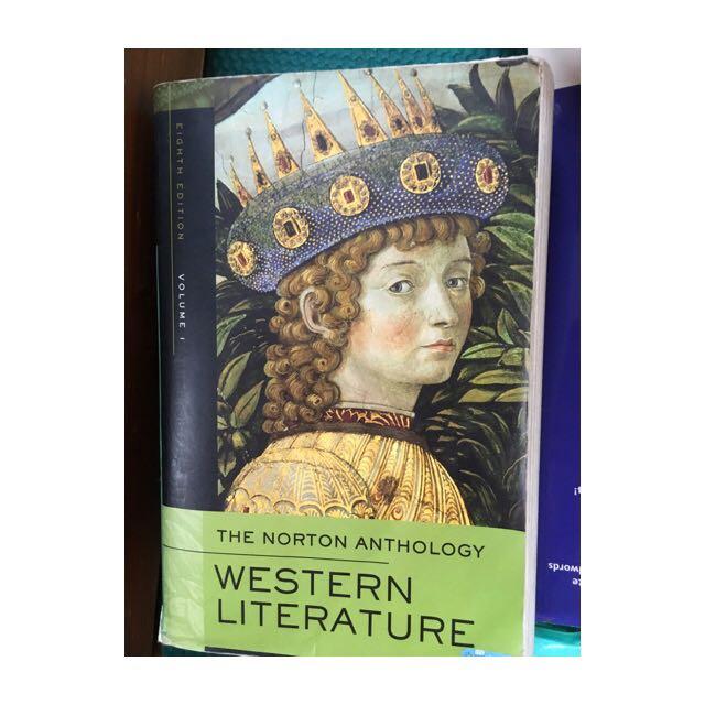 Norton Anthology Western Literature 西洋文學