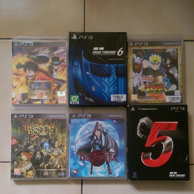 (更)PS3 遊戲光碟 (每片價格不同哦)