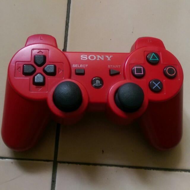 PS3 原廠手把 (紅)