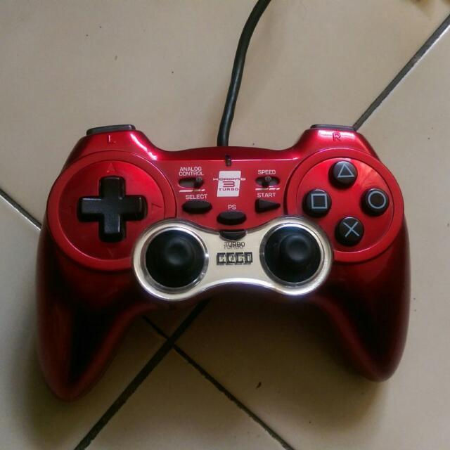 PS3 副廠有線手把 (紅)