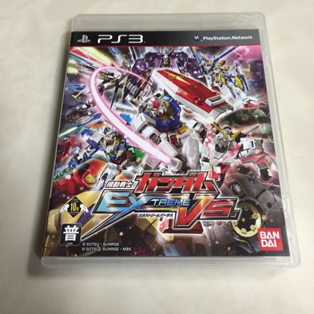 PS3機動戰士鋼彈極限VS.