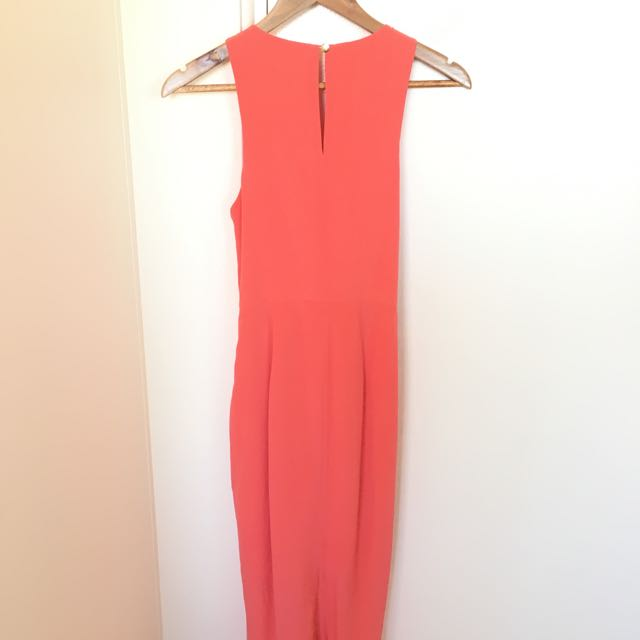 Size 8 Coral Rodeo Show Dress