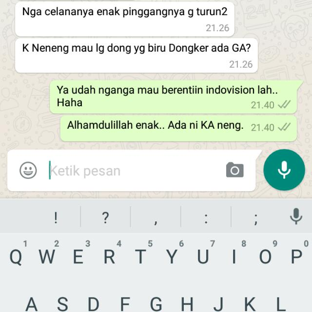 Testimoni Celana Cotton Stretch