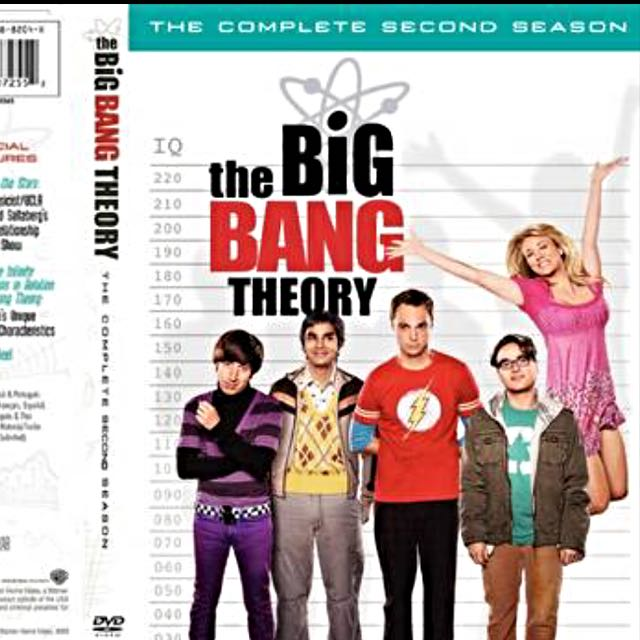 The Big Bang Theory Season 2 Dvd Set