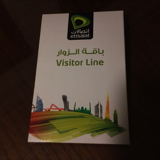 Etisalat data card