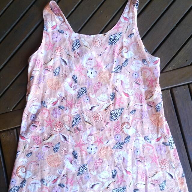 Vintage Shell Dress Size M