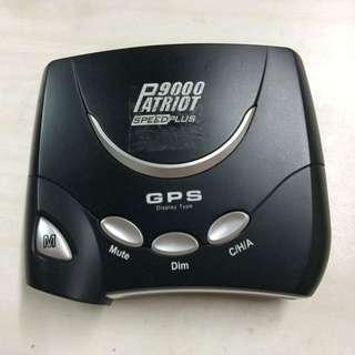 愛國者 PATRIOT 9000 PLUS版  GPS 全頻測速器