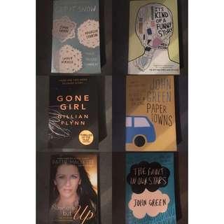 Six Books (retail $105)