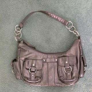 Pewter Handbag