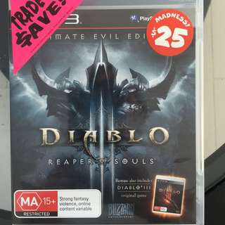Diablo Reaper Of Souls PS3