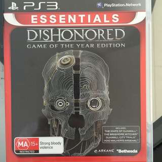 Dishonoured PS3